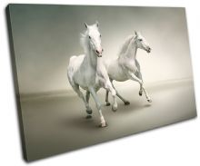 White Horses Animals - 13-0507(00B)-SG32-LO